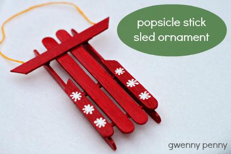 Lollipop Stick Christmas Craft Ideas