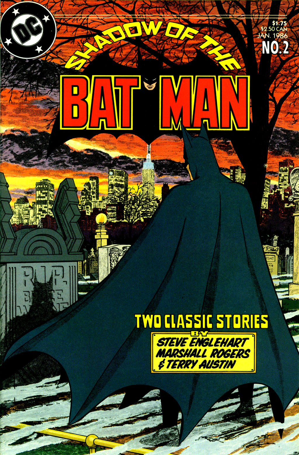 Read online Shadow of the Batman comic -  Issue #2 - 1