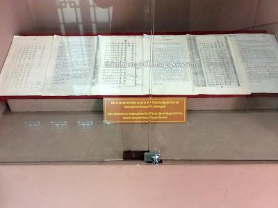 Văn bản bổ nhiệm và xét xử về cụ Sắc trong quá trình làm quan tại triều Nguyễn