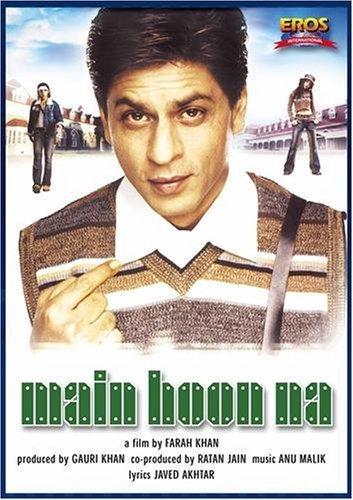Poster Of Main Hoon Na 2004 720p Hindi HDRip Full Movie Download