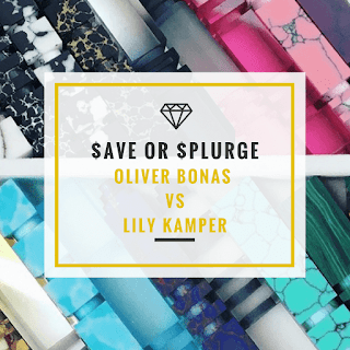 Save or Splurge? Oliver Bonas vs Lily Kamper
