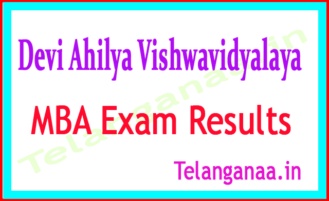 Devi Ahilya Vishwavidyalaya MBA 2nd / 4th Sem 2018 Exam Results