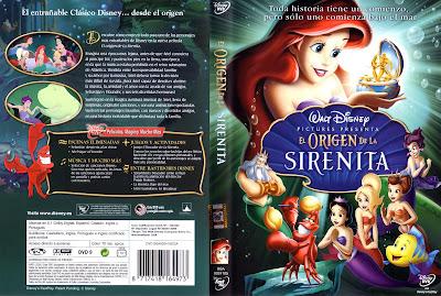 El origen de La Sirenita (2008) | Caratula | Cartel | Disney