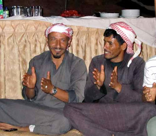 Bedouin men in Jordan