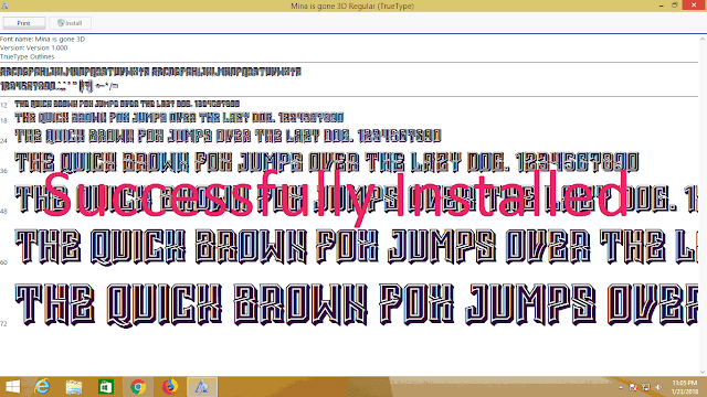 How to install fonts windows 10 II windows 8