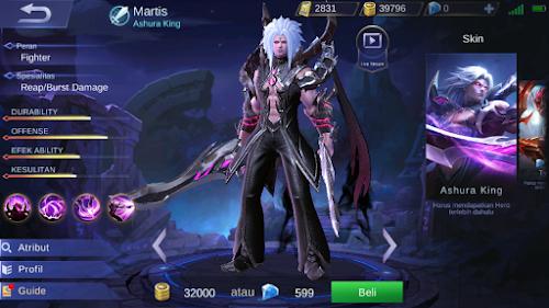 Tips, Build, dan Guide Bermain Hero Martis