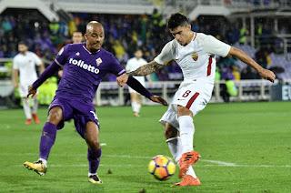 ملخص ونتيجة واهداف مباراة روما وفيورنتينا اليوم 30/1/2019 كأس إيطاليا Fiorentina vs AS Roma