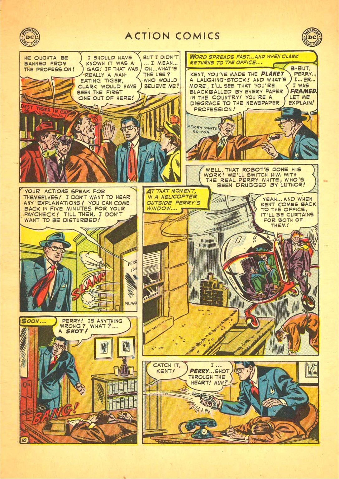 Read online Action Comics (1938) comic -  Issue #166 - 11