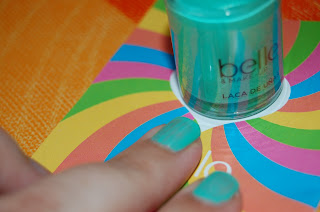 Candy Land de Eroski verano 2013 - esmalte tono Taffy Apple