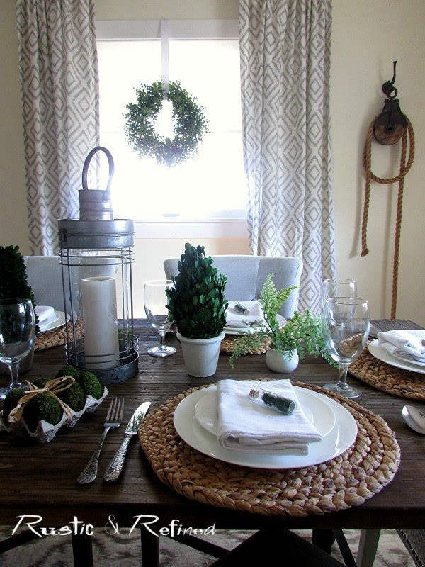 Table Setting Idea for Spring