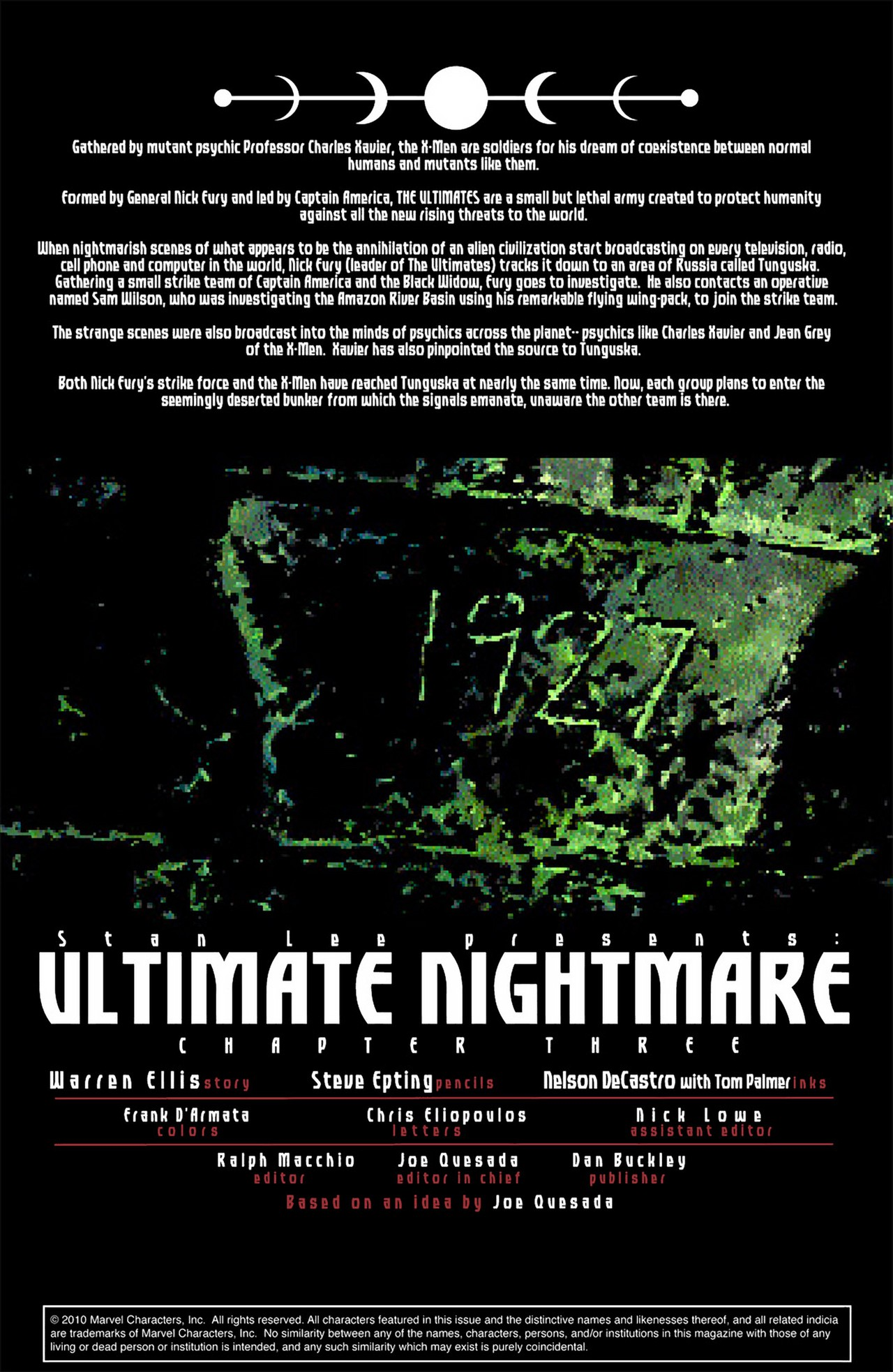 Read online Ultimate Nightmare comic -  Issue #3 - 2
