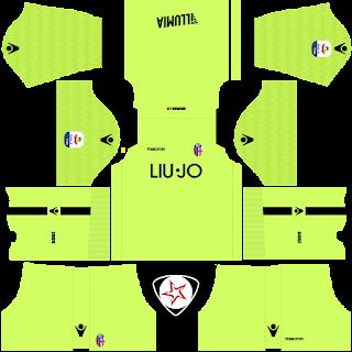 Bologna FC 1909 2018 - 2019 GK Away Kit