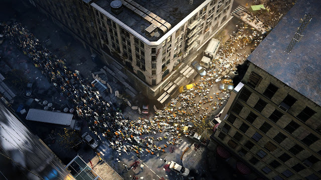 Inilah salah satu screenshot World War Z
