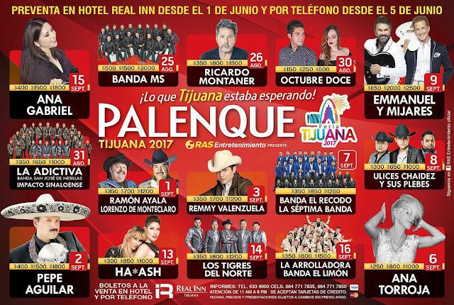 palenque tijuana 2017