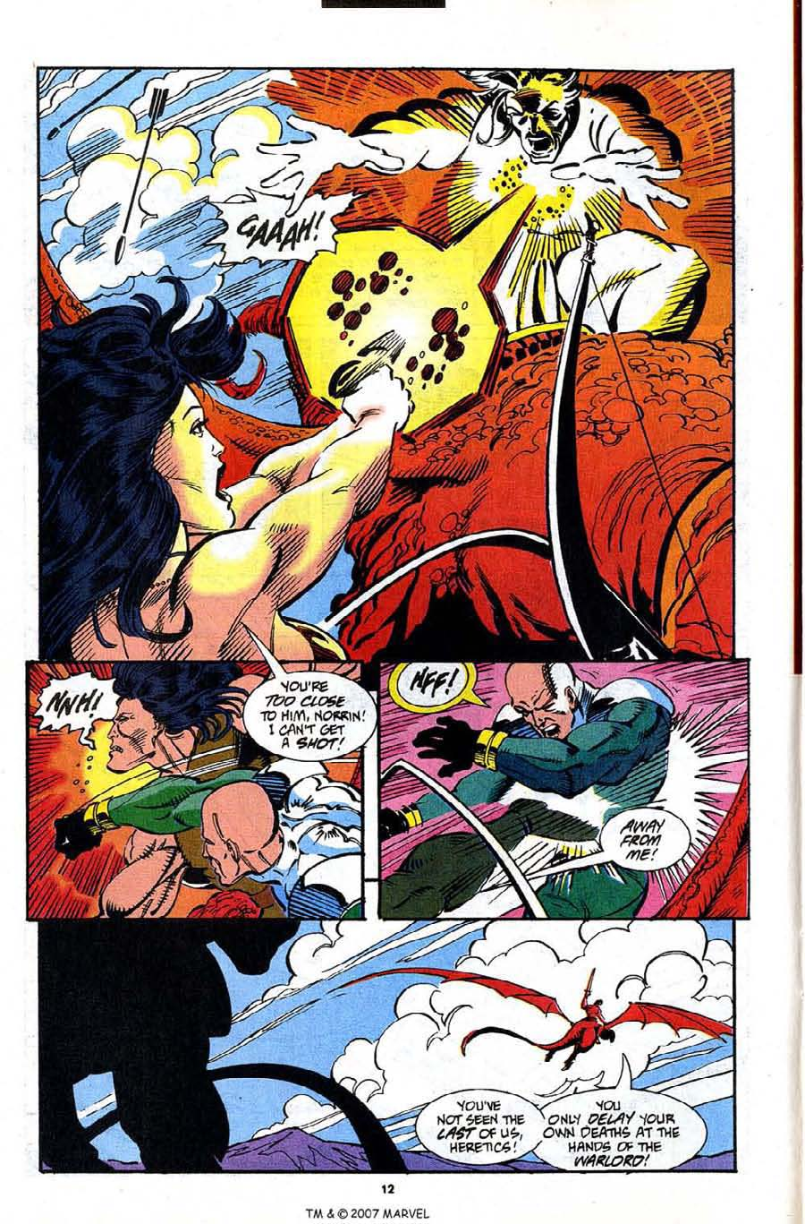 Read online Silver Surfer (1987) comic -  Issue #91 - 14