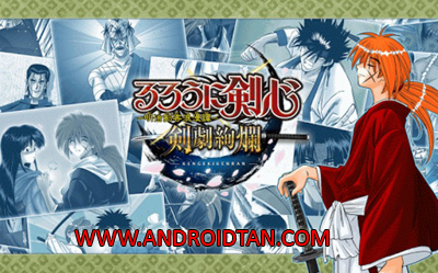 Download Rurouni Kenshin – Meiji Kenkaku Romantan Mod Apk v1.0.7 (God Mode) Terbaru 2017
