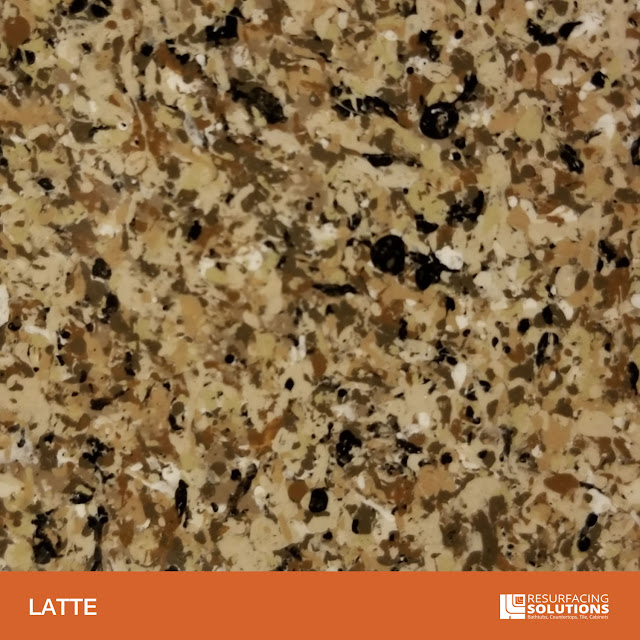 Resurfacing Solutions Knoxville Faux Granite Countertop Color Sample 33