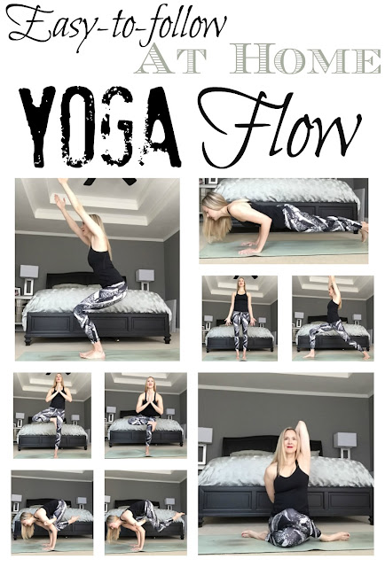 An at-home yoga flow for all levels!