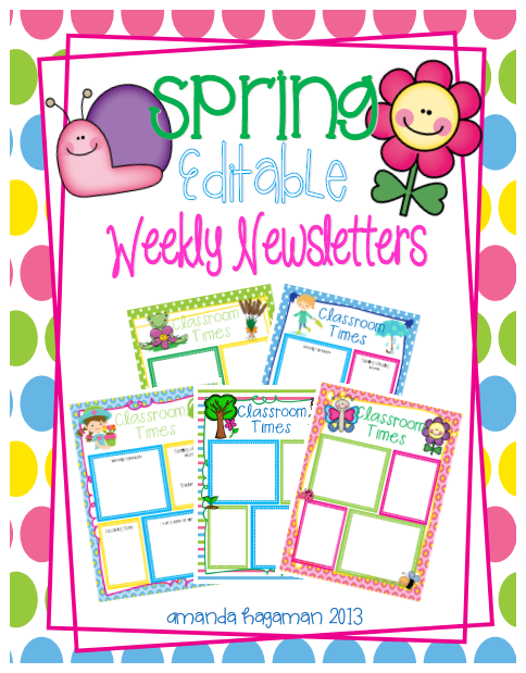 Let 39 s get fancy in first weekly newsletters for Free april newsletter template