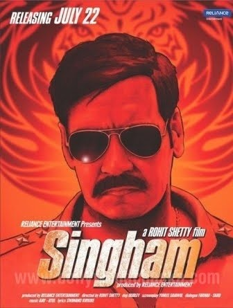 Ajay Devgan Singam Movie Poster, Ajay Devgan Singam Movie ...