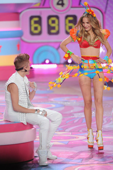 Juntin Biebe Victoria´s Secret Fashion Show 2012