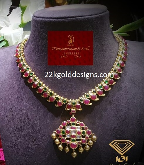 Traditional Pota Ruby Necklace