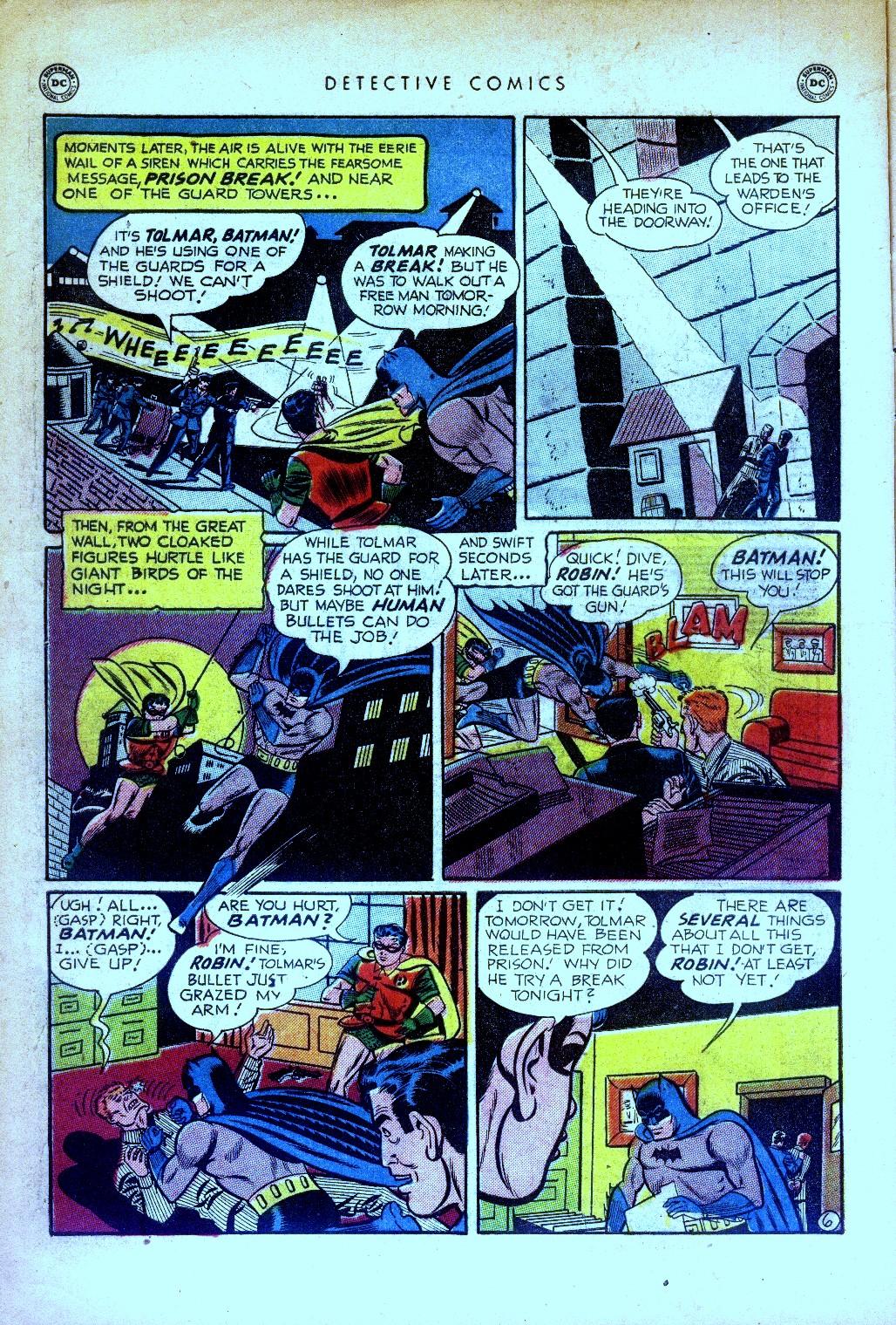 Read online Detective Comics (1937) comic -  Issue #169 - 8