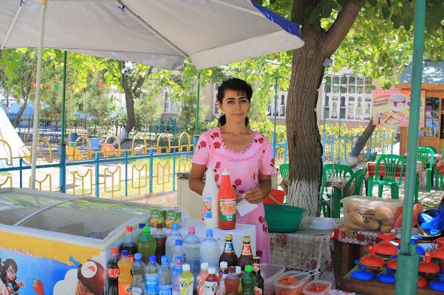 Ouzbékistan, Boukhara, Parc des Samanides, © L. Gigout, 2010
