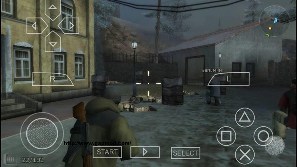 PSP BRAVO SUR FIRETEAM SOCOM TÉLÉCHARGER 3