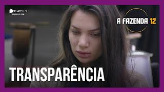 A Fazenda 12 – Stéfani fala sobre transparência – Biel acorda de bom humor – Rodrigo critica peões da baia