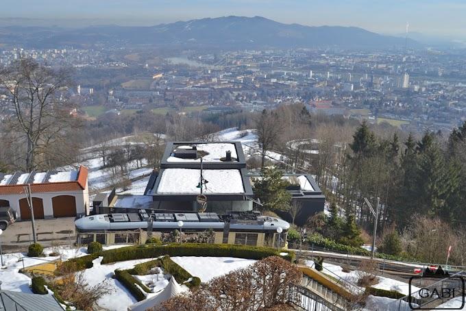 Pöstlingbergbahn, czyli tramwaj na wzgórze w Linzu