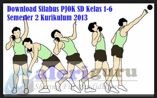 Download Silabus PJOK SD Kelas 1-6 Semester 2 Kurikulum 2013 - Galeri Guru