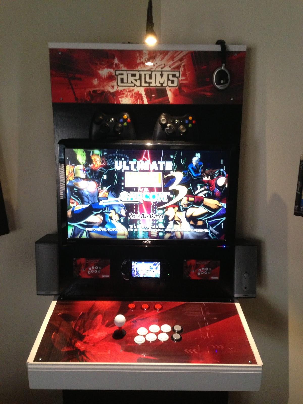 Jonyfraze Custom Arcade Cabinet
