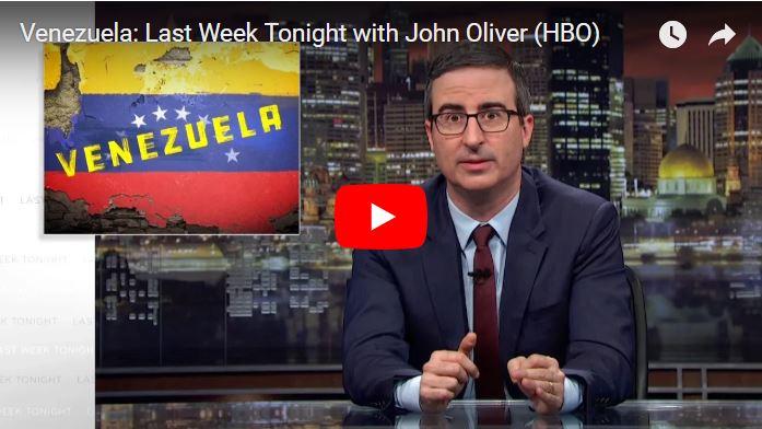 Venezuela: Last Week Tonight con John Oliver - Programa especial