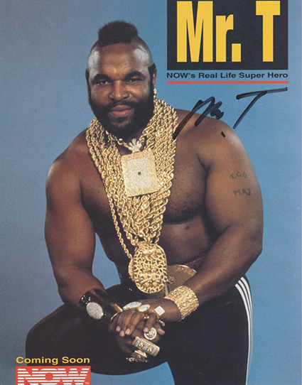 Birthdays Mr T See More