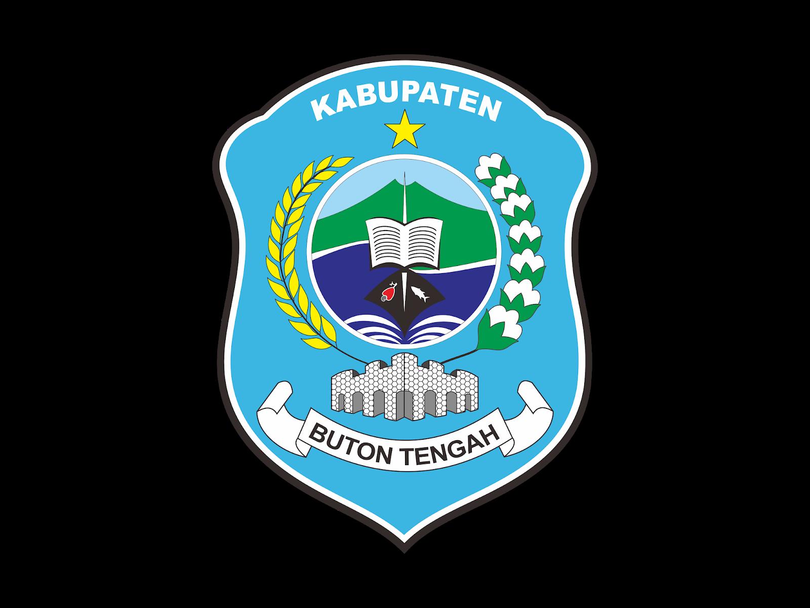 Logo Kabupaten Buton Tengah Vector Format Cdr Png Svg Ai Biologizone