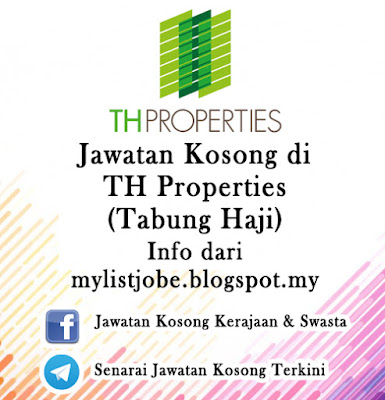 Jawatan Kosong di TH Properties (Tabung Haji)