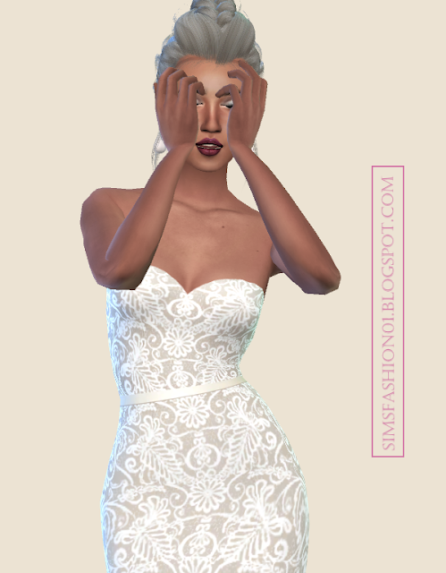 SimsFashion01 - WEDDING COLLECTION