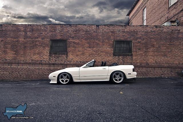 Mazda RX-7 FC kabriolet, wankel, bez dachu