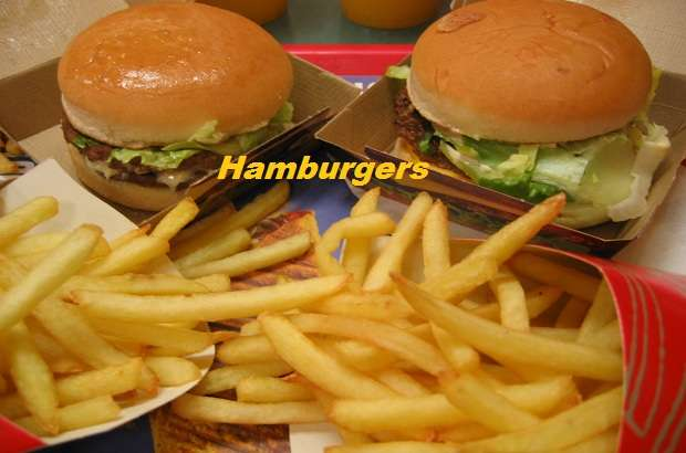 hamburgers-the most famous food