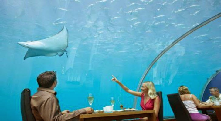 Ithaa Beautiful Under Sea Restaurant