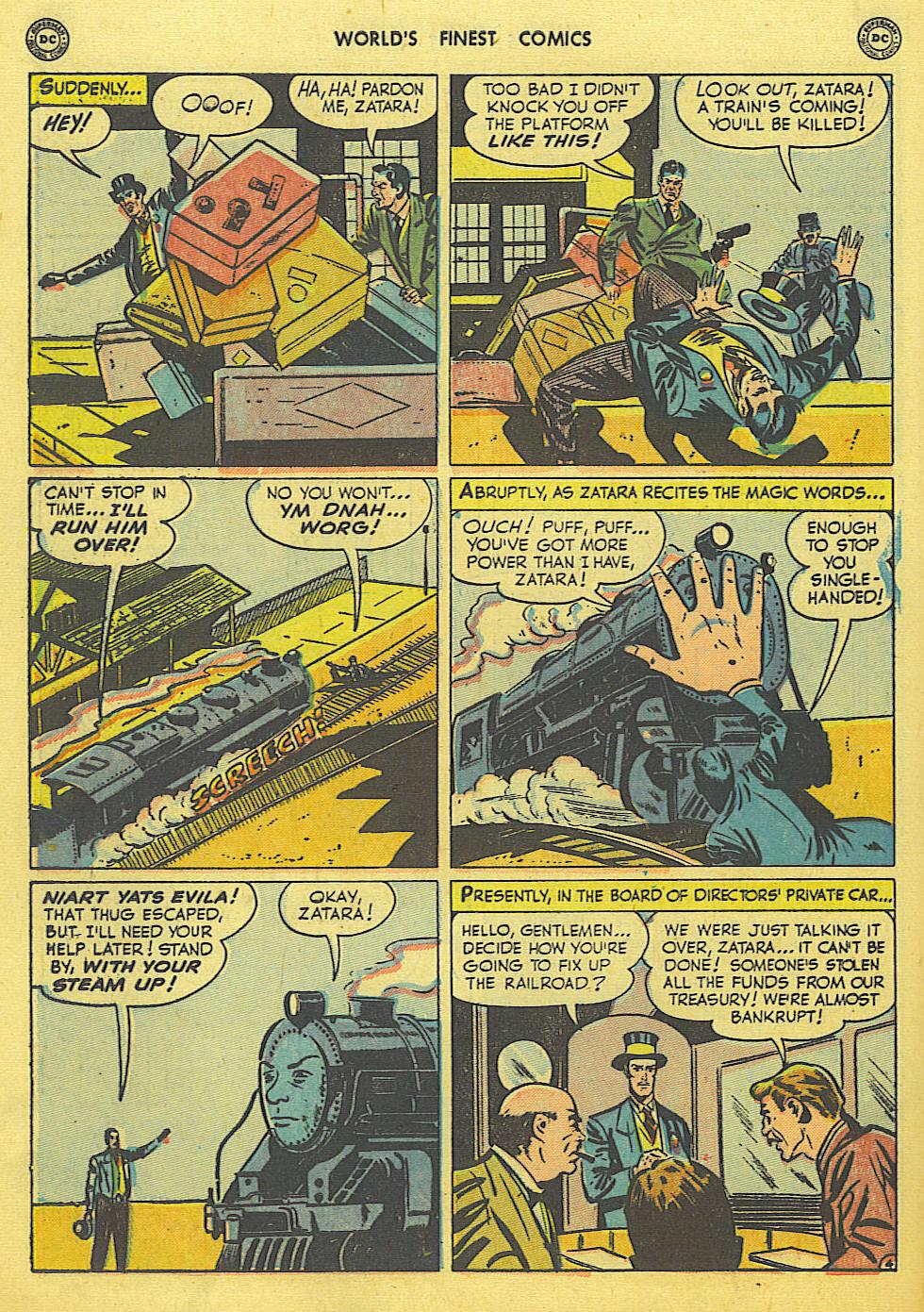 Read online World's Finest Comics comic -  Issue #49 - 55