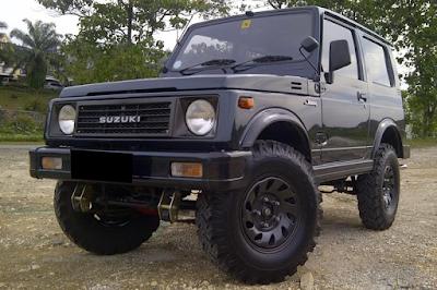 Suzuki Jimny dan Katana Indonesia