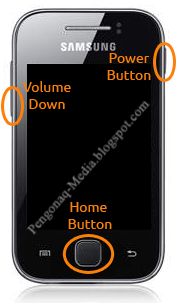 Masuk ke Recoveri Mode Samsung Galaxy Young S-5360