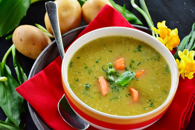 soup, food, water, calories, weight loss