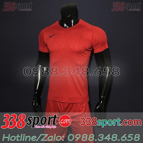 Áo Bóng Đá Không Logo Hot Nike TB SPH02 Đỏ