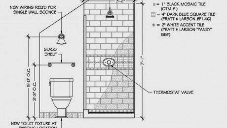 Sectional Elevation  of Bathroom  Ideas  Inspiring Interior
