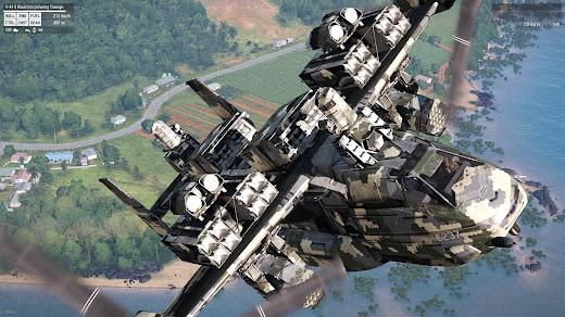 Arma3のV-44Xを空飛ぶ戦艦にしたV-44 Valkyrie MOD