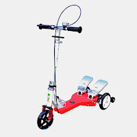 rmb alloy dual pedal Scooter
