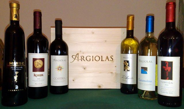 Cantine Argiolas winery in Serdiana Sardinia